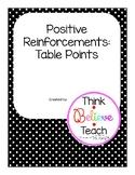 Burlap Table Points
