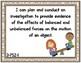 Burlap Themed 3rd Grade Science Standards