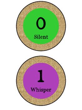 Burlap Voice Levels