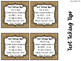 Burlap and B & W Polka Dot Interchangeable Target Labels