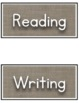 Burlap and Chalk Learning Goals