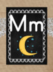 Burlap Chalkboard and Lace Alphabet and Word Wall Headers