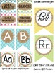 Burlap and Polka Dot Classroom Theme Decor and Organization Bundle