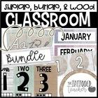Burlap and Shiplap Classroom decor BUNDLE