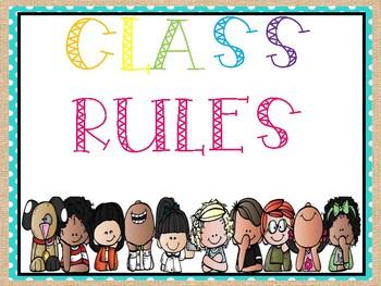 Burlap class rules