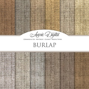 Burlap textures Digital Paper patterns linen fabric texture scrapbook background