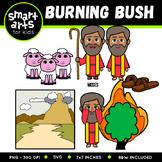 Burning Bush Clip Art