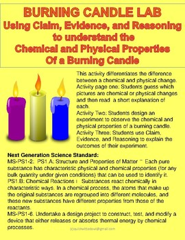 Burning Candle Lab Using Claim, Evidence, and Reasoning in Argumentative Inquiry
