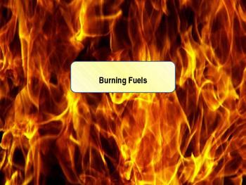 Burning Fuels Lesson