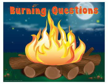 "Burning Questions- 8½"" x 11"""