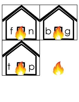 Burning Up with Phonics!