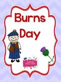 Burns Day Activities