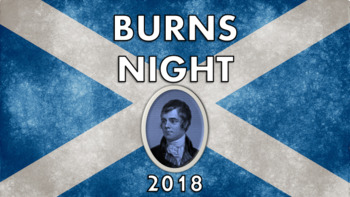 Burns Night 2018 Assembly –Presentation, Quiz, Worksheet, Poetry, Lesson, Robert