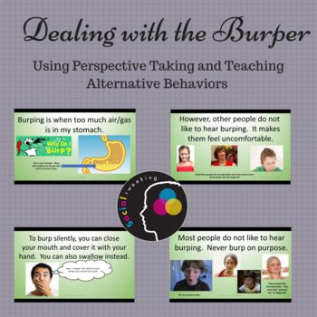 Burping: Dealing with the Burper; Thinking of Others; Manners; Social Skills
