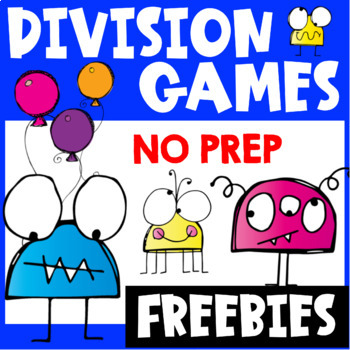 picture relating to Division Game Printable titled Monsters Office Online games Freebie for Real truth Fluency: Section