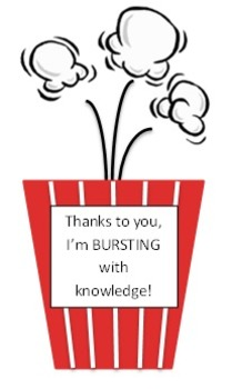 Teacher Appreciation - Popcorn