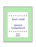 Burt Wolf ~ Geneva, Switzerland