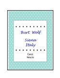 Burt Wolf ~ Siena  Italy