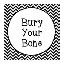 Bury Your Bone: Dog-Themed Behavior Chart
