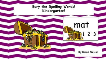 Bury the Spelling Words!