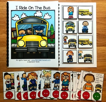 Bus Behavior Adapted Book and Activities