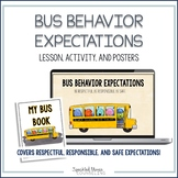 Bus Behavior Expectations Lesson and Posters