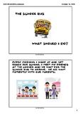 Bus Behaviors - A Social Story