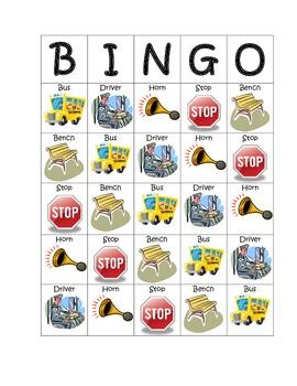 Bus Bingo