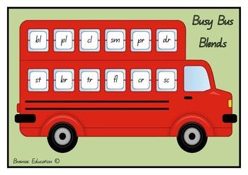 Bus Blends Bingo