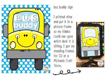 Bus Buddy Dismissal Guide and Reward Program