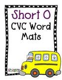 Bus CVC Word Building Mat - Short O