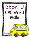 Bus CVC Word Building Mat - Short U