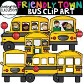 Bus Clip Art {School Clip Art}