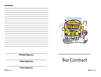 Bus Contract