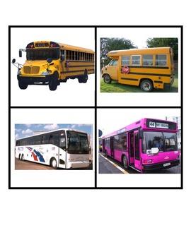 Bus Describing Sentences