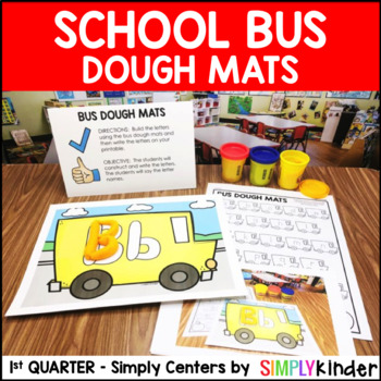 Bus of Initial Sounds - Kindergarten Center - Simply Centers