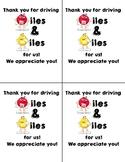 Bus Driver Appreciation Cards