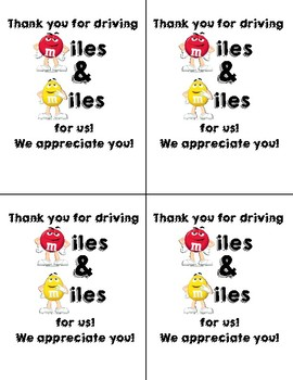 picture relating to Bus Driver Thank You Card Printable titled Bus Driver Appreciation Worksheets Training Products TpT