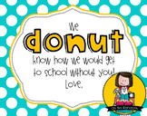 Bus Driver Gift Tag | Donut