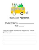 Bus Leader Application