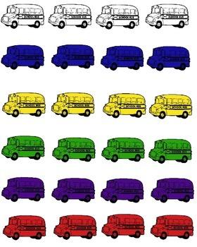 Bus Manipulative Fun Pack