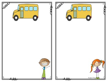 Bus Notes, Dismissal Tags and More