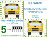 Bus Numbers: A Write the Room Act for #0-10