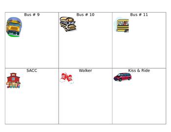 Bus Rider Chart