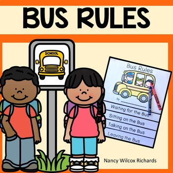 graphic about Printable School Bus Rules referred to as Bus Suggestions Bus Basic safety Bus Social Tale and Emergent Reader