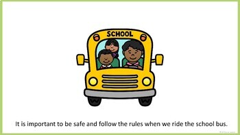 Bus Rules and Safety - Social Narrative (FULL VERSION)