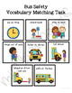 Bus Safety Vocabulary Folder Game for Students with Autism & Special Needs