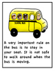 """Bus Social Story & """"I Can"""" Emergent Reader And Coloring Book"""