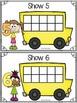Bus Stop Ten Frames Puzzles & Playdoh Math Centers