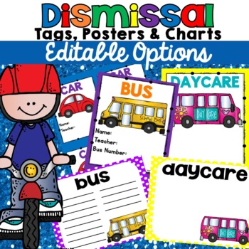 Bus Tags Car Tags Beginning of the Year